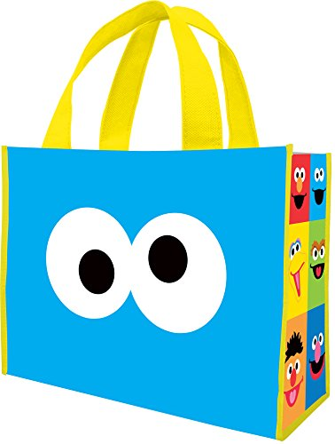 (Sesame Street Large Recycled Shopper Tote 32073)