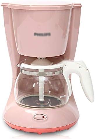 Cafetera De Goteo Mini Doméstica Oficina Totalmente Automática (Color : Pink, Size : 21 * 17.2 * 27cm): Amazon.es: Hogar