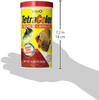 Tetra TetraColor Alimento granulado para peces tropicales 8