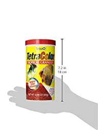 Tetra 16262 TetraColor Tropical Granules, 10.58-Ounce, 1-Liter