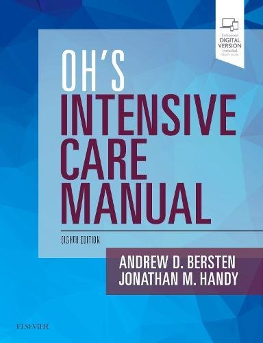 - Oh's Intensive Care Manual