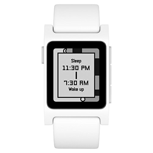 Pebble 2 + Heart Rate Smart Watch- White/White by Pebble Technology Corp (Image #1)