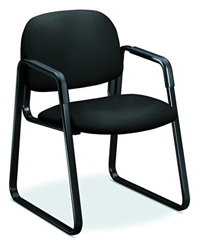 HON HON4008CU10T Solutions Seating Guest, Black CU10 ()