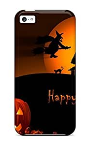 Cute Appearance Cover/tpu ZtgefKQ5997KbKLS Halloweens Case For Iphone 5c