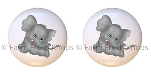 elephant dresser knobs - 7