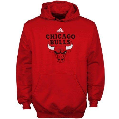 Adidas Chicago Bulls Youth (Sizes 8-20) Primary Logo Hoodie ()