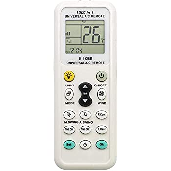 Elayce Air Conditioner Remote AC Control LCD Universal Conditioning Controller 1000 in 1 for Mitsubishi Toshiba HITACHI FUJITSU Daewoo LG Sharp Samsung ...