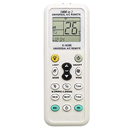 Elayce Air Conditioner Remote AC Control LCD Universal Conditioning