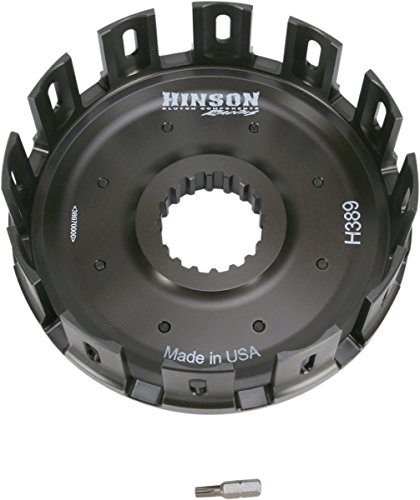 Hinson Clutch Basket With Cushions Without Kickstarter Gear - Fits: Honda CRF450X 2005-2009