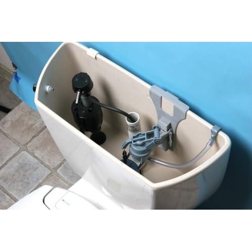new Brondell PF100-W Simple Flush, Eco-Friendly Dual Flush Toilet Retrofit Kit