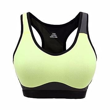 GUHI Profesional de las mujeres ropa interior deportiva, taza llena reunir transpirable la absorcion de