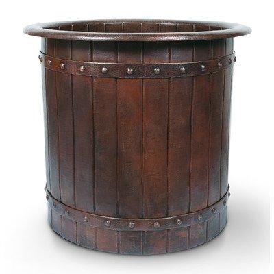 Premier copper freestanding tub btbr40db for Bathtub material comparison