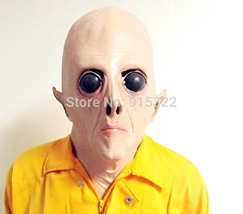 [2015 - Fancy Adult Horror Scary extra-terres Head Mask Halloween Costume] (Extra Head Costume)