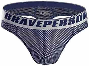 0575ff4bc249e7 Brave Person Men's Sexy G-String Jacquard Thong Underwear Swimwear B1153