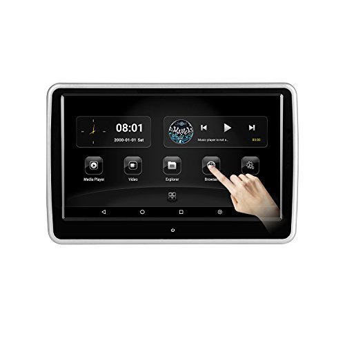 KWONGLUNG 10.1 Inch Car DVD Player for Rear Seat with Android system/WIFI/HDMI Port/USB/SD Card (108AD)