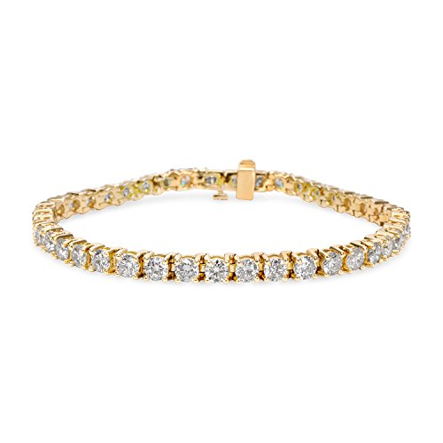 BRAND NEW Diamond Tennis Bracelet in 14k White Gold (7.65 CTW) by Loved Luxuries