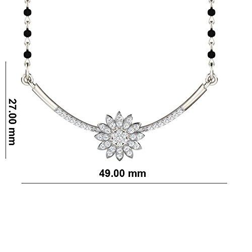Libertini Colliar argent 925 serti de Diamant