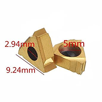 """SER1010H11 10×100 Lathe Threading Turning Tool for 11ER 1//4/"""" A60 carbide Inserts"""