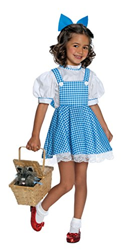 Rubie's Wizard of Oz Child's Deluxe Dorothy Costume, Small (Discontinued by manufacturer)