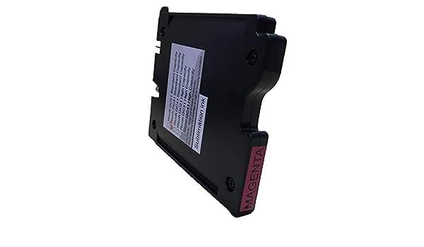 1-PK GC31Y 405691 KLDink GC31 GC-31Y Heat Transfer Sublimation Ink Cartridges Compatible for Aficio GXe2600 e3300 e3300N E3350n e5050N e7700 e5550N