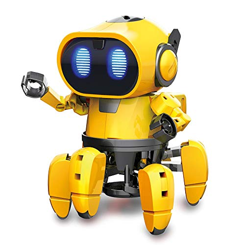 Locusts RISHIL World Pro'sKit GE-893 Steam DIY AI Smart RC Robot Infrared Robot Toy