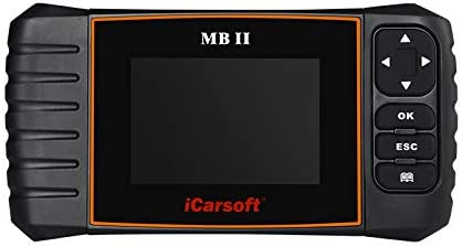 The iCarsoft MB-II is a Mercedes Diagnostic Tool that has many functions