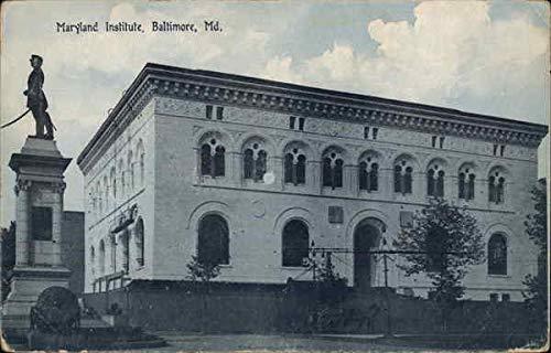 Maryland Institute Baltimore Original Vintage Postcard from CardCow Vintage Postcards