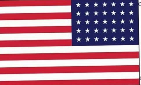 - Mikash 3x5 American USA United States 35 Linear Stars Flag 3x5 Civil War Grommets | Model FLG - 2888