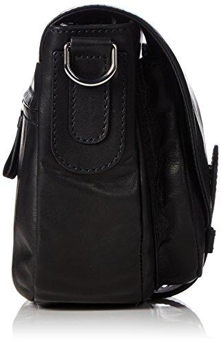 BREEStockholm 29 - Bolso bandolera Mujer Negro - negro (black 900)