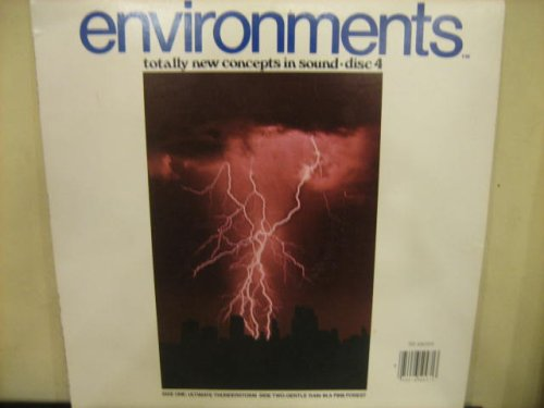 (Environments 4: Ultimate Thunderstorm / Gentle Rain In A Pine Forest (Syntonic Research Stereo / MQ Compatable Version) [Vinyl LP] [STEREO / QUAD])