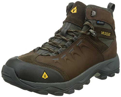 Vasque Men's Vista WP Hiking Boot,Slate Black/Old Gold,7 M US