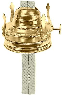 National Arcraft Oil Lamp Burner Fits Mason Jars or #2 Oil Lamps (Pkg/5) by National Arcraft