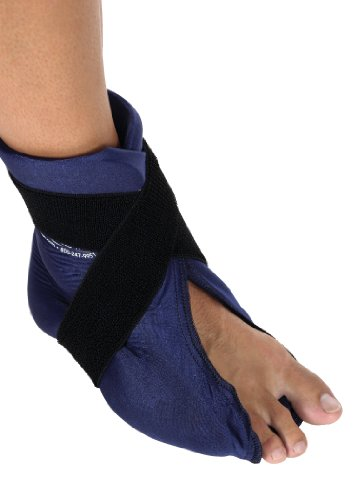 Elasto Gel Hot/Cold Wrap,foot and Ankle (Elasto Gel Shoulder Therapy Wrap)