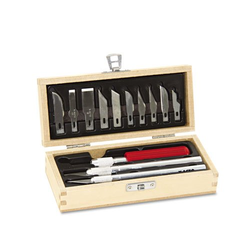 elmers-x-acto-knife-set-3-knives-10-blades-carrying-case-x5082