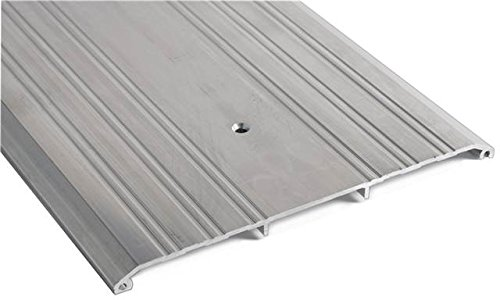 National Guard 430E 72 430E - 72 Fluted Saddle Threshold 72'', 1'' Height, Stainless Steel
