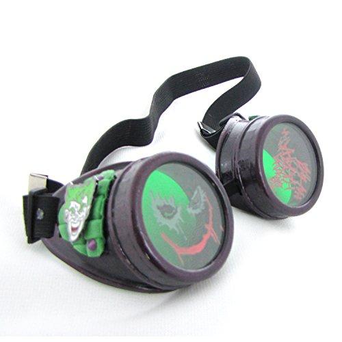Joker Steampunk goggles - Joker Steampunk