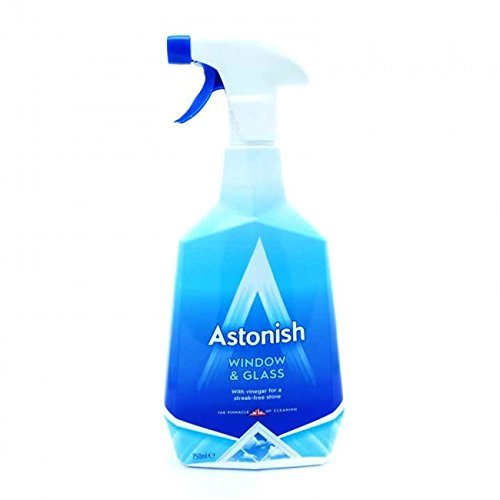 Astonish Window and Glass Cleaner Spray 750 ml (Pack of 6)