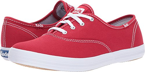 d4d1ae675744 Keds Champion - Red Low-Profile Canvas Sneaker - Size  10