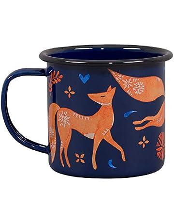 8ce11985e44eb Folklore FOL144 Enamel Mug-Fox