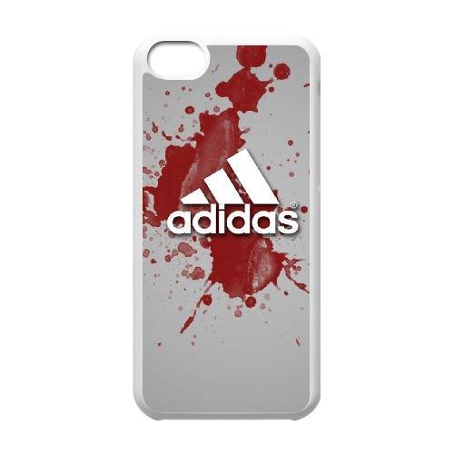 R1N89 adidas P6G4YH cas d'coque iPhone de téléphone cellulaire 5c couvercle coque blanche FT3KYS2TJ