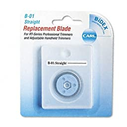 Carl Professional Rotary Trimmer Replacement Blade-Straight
