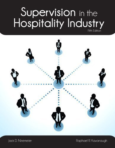 Supervision in the Hospitality Industry with Answer Sheet (AHLEI) (5th Edition) (AHLEI - Hospitality Supervision / Human Resources) by Kavanaugh, Raphael R., Ninemeier, Jack D., American Hotel & (2012) Paperback