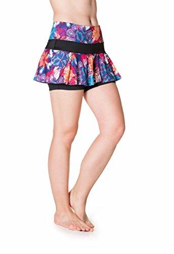 Skirt Sports Women's Lioness Skirt, Tempered Tantrum Print/Black, ()