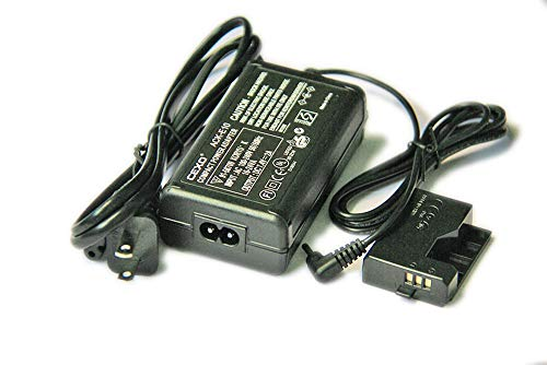 CEXO ACK-E10 Power Adapter Kit for Canon DSLR Camera EOS 1100D 1200D X50T3