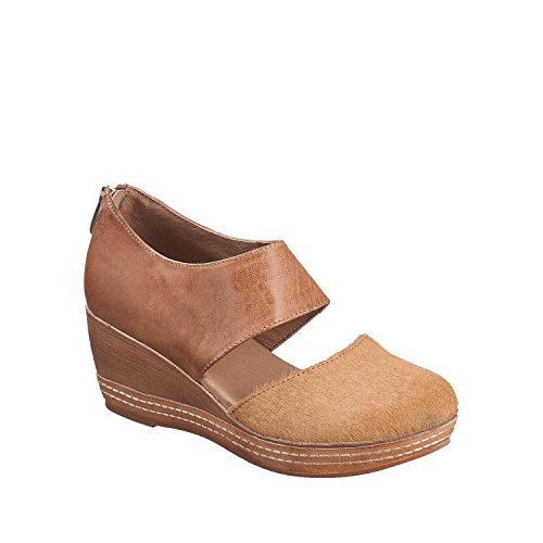 Antelope Women's 423 Leather Lower Dorsay Wedge Taupe