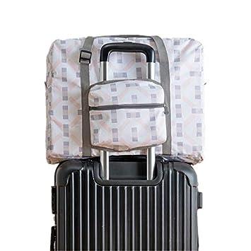 6470394a8c0d Amazon.com : Saasiiyo Folding Print Travel Luggage Bag Organizer ...