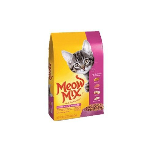 Meow Mix Kitten Li'L Nibbles, 3.15-Pound