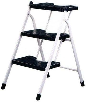 Vervi - Taburete escalera - negra - 3-p: Amazon.es: Hogar
