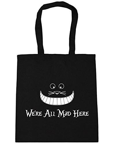 litres mad Gym Shopping Black here we're HippoWarehouse Bag 42cm Beach all x38cm Tote 10 qnX7EwAYZ