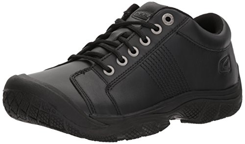Mens Oxford Work Shoe (KEEN Utility Men's PTC Oxford Work Shoe,Black,11.5 M US)